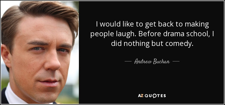 andrew buchan child