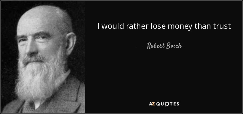Quotes By Robert Bosch A Z Quotes