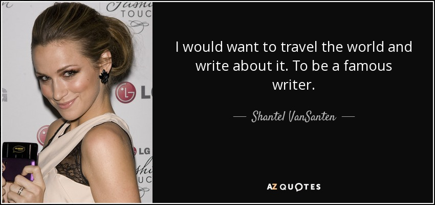 I need to write a report on a famous writer?
