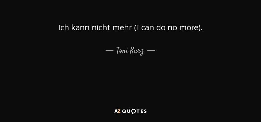 Ich kann nicht mehr (I can do no more). - Toni Kurz