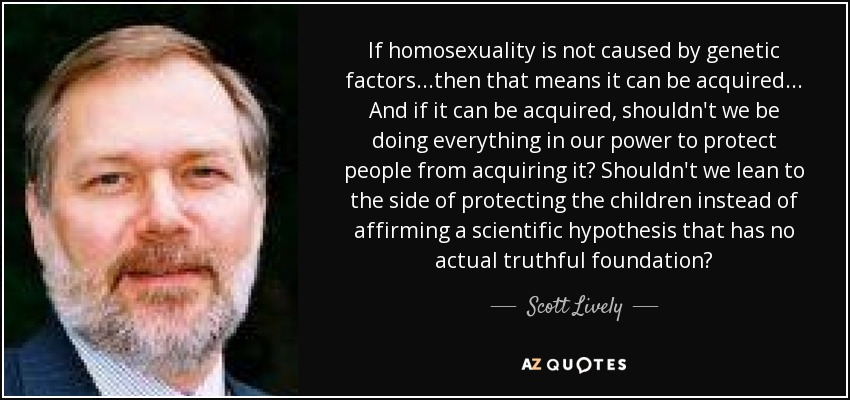 The genesis movement for homosexuals