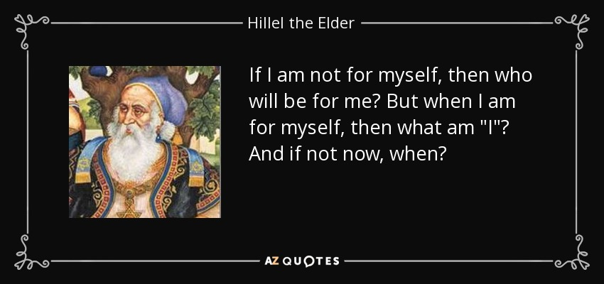 Top 18 Quotes By Hillel The Elder A Z Quotes