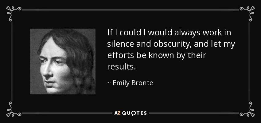 Emily Bronte Quotes | Top 25 Quotes By Emily Bronte Of 146 A Z Quotes