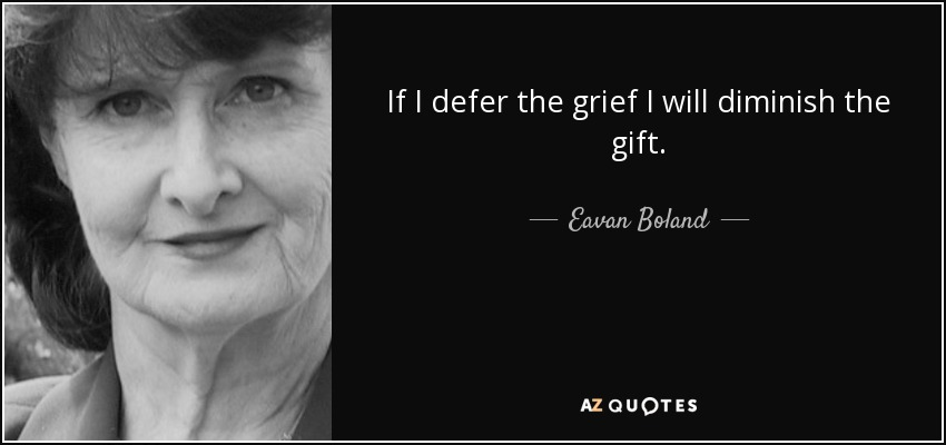 TOP 15 QUOTES BY EAVAN BOLAND | A-Z Quotes
