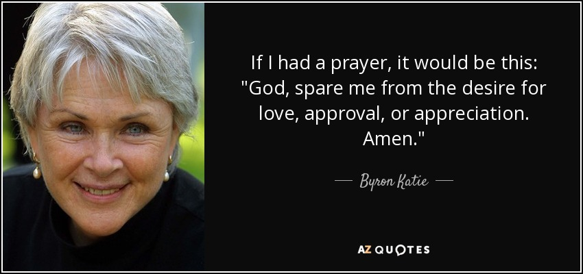 If I had a prayer, it would be this: