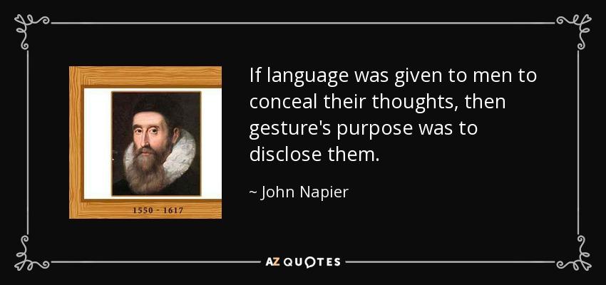 about john napier