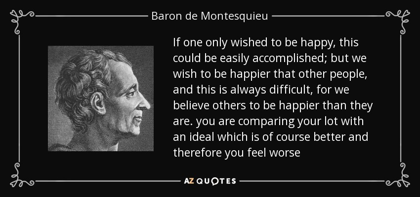 comparing john locke and baron de montesquieu What are the differences in the philosophies of john locke, thomas hobbes, and baron de montesquieu.