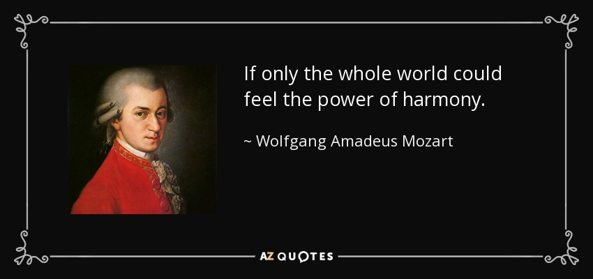 Top 25 Quotes By Wolfgang Amadeus Mozart Of 85 A Z Quotes
