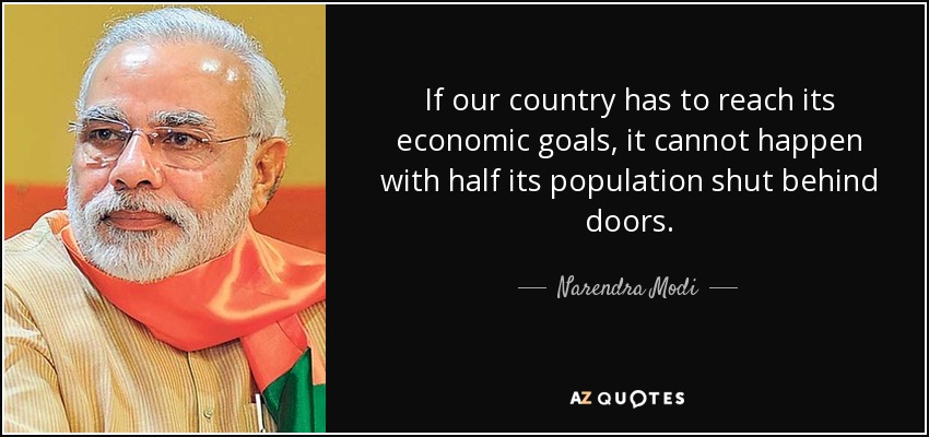 economic goals narendra modi quote if our country has to reach its economic