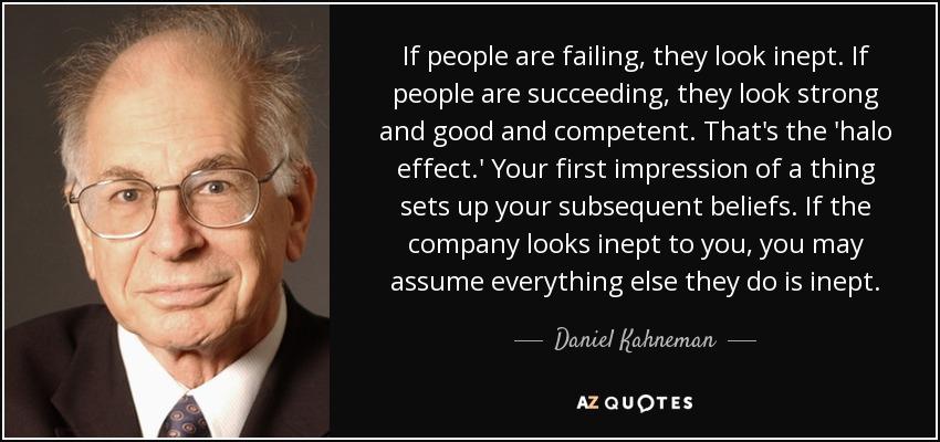 1f8eb08298 Daniel Kahneman quote  If people are failing