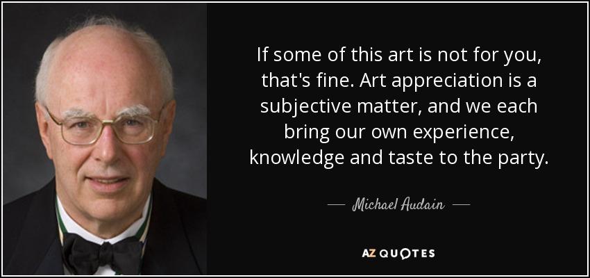 art appreciation topics
