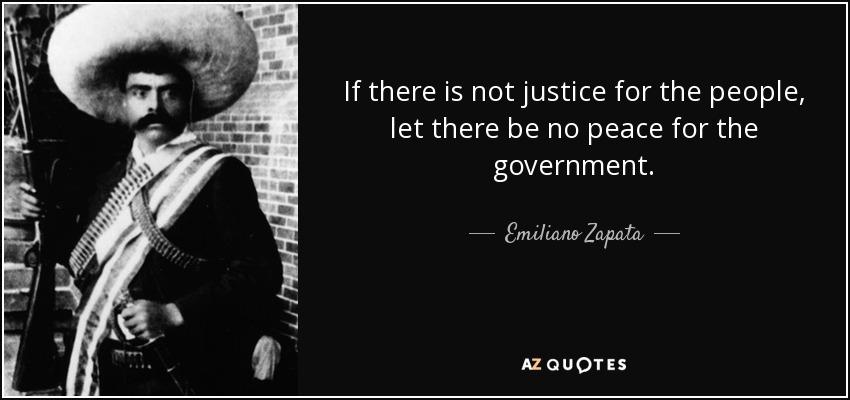 Zapata Essay
