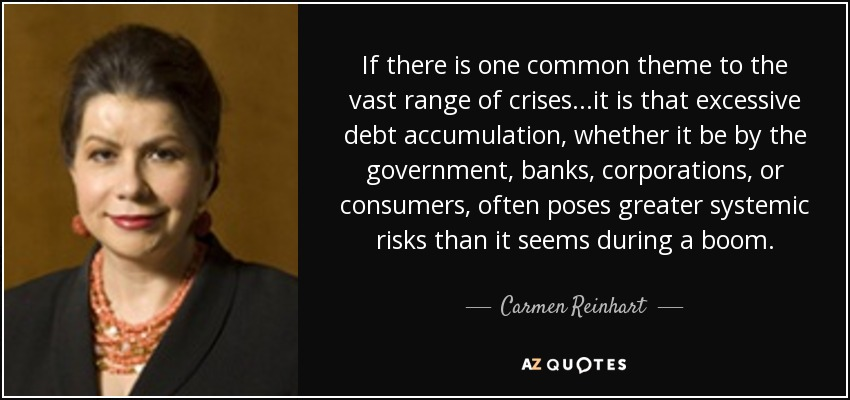 QUOTES BY CARMEN REINHART | A-Z Quotes