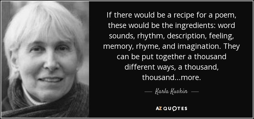 Quotes By Karla Kuskin A Z Quotes
