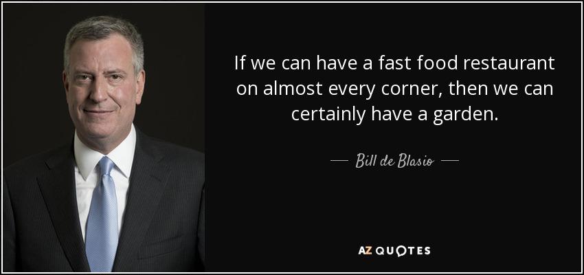TOP 25 QUOTES BY BILL DE BLASIO | A-Z Quotes