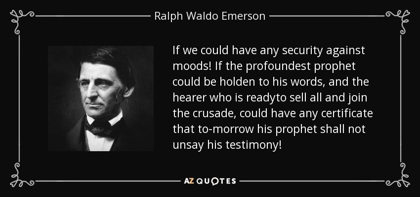 circles by ralph waldo emerson essay Ralph waldo emerson compensation from essays: this circle polarity, or action compensation balances every gift and every defect.