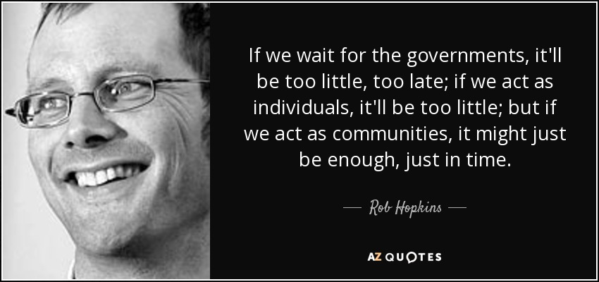 TOP 9 QUOTES BY ROB HOPKINS