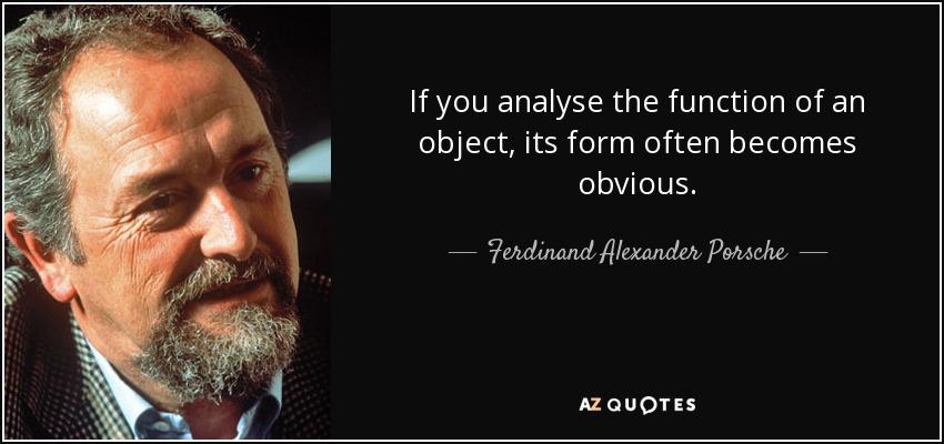 QUOTES BY FERDINAND ALEXANDER PORSCHE