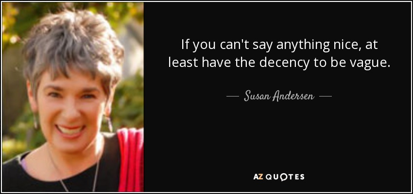 Say Anything Quotes: TOP 5 QUOTES BY SUSAN ANDERSEN