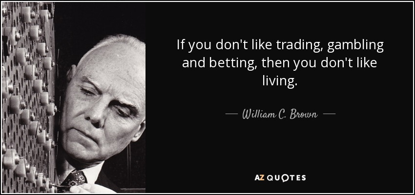 difference between betting and gambling quotes