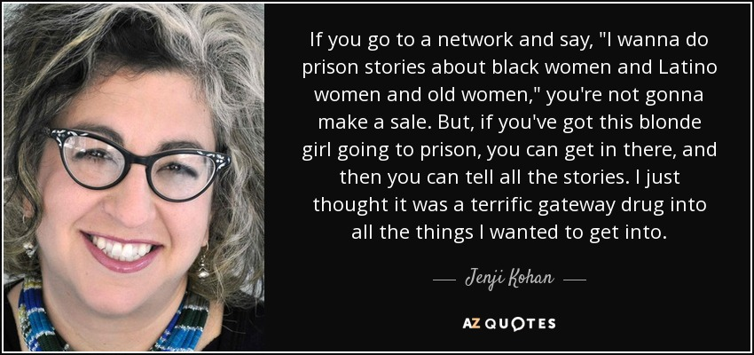 If you go to a network and say,