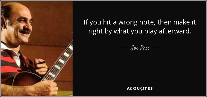 Top 10 Quotes By Joe Pass A Z Quotes