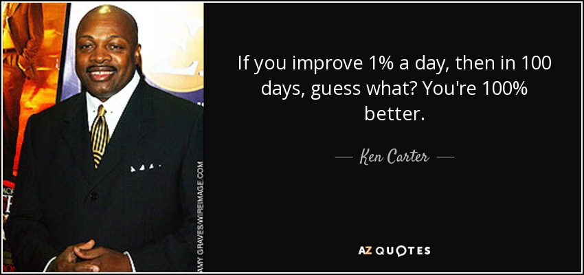 Quotes By Ken Carter A Z Quotes