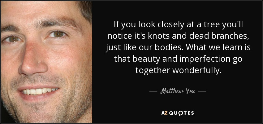 Matthew Fox tree quote