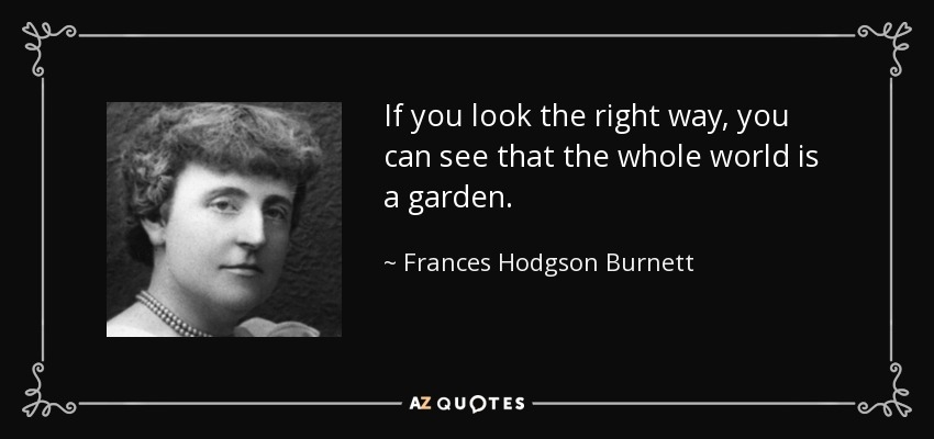 Top 25 Quotes By Frances Hodgson Burnett Of 105 A Z Quotes