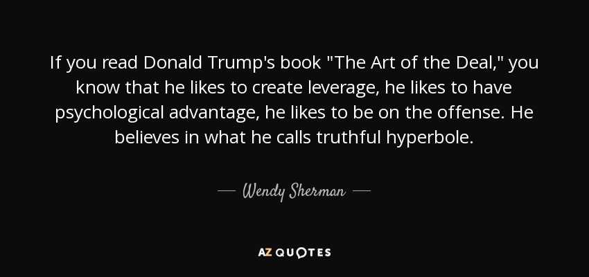 The Art Of The Deal Quotes Magnificent Truthful Quotes Page  9  Az Quotes