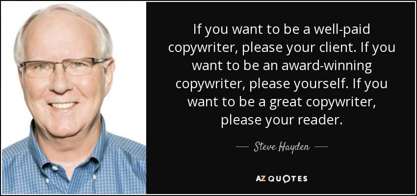 Get Powerful Sales Copy Written by an Award-Winning Copywriter