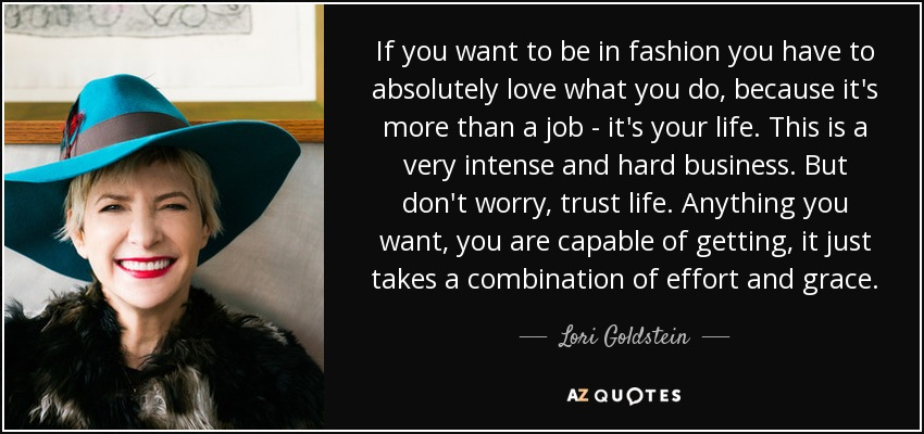 TOP 6 QUOTES BY LORI GOLDSTEIN