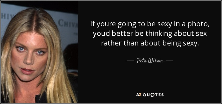 peta wilson interview