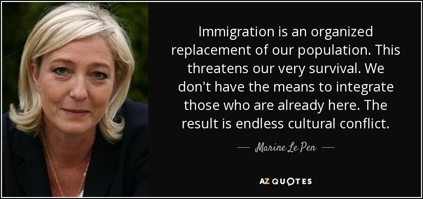 Image result for marine le pen quotes