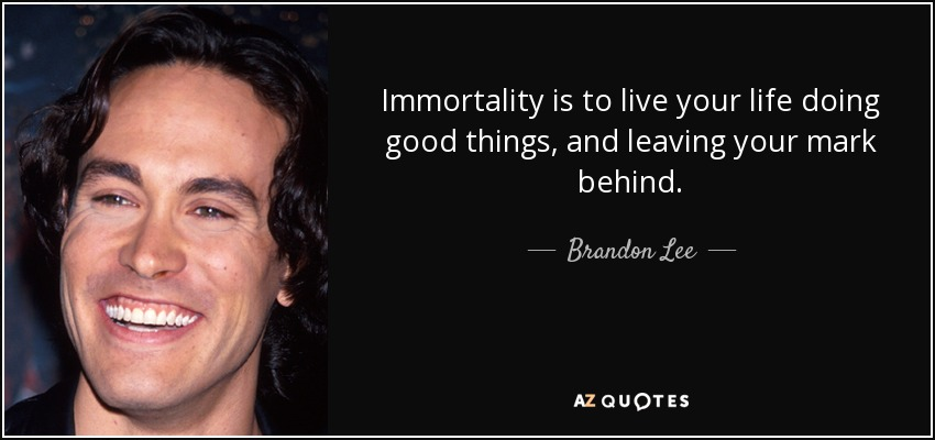 an introduction to the life and career of brandon lee Brandon lee biography, know personal life, childhood, born, age, birthplace know life before famous detail height(in feet, meter) as well as rumor and controversy.