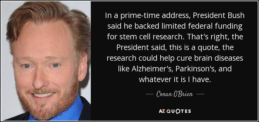 Stem cell research speech