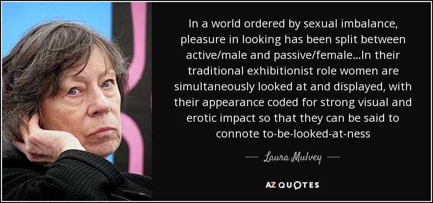 Visual Pleasure and Narrative Cinema - Laura Mulvey