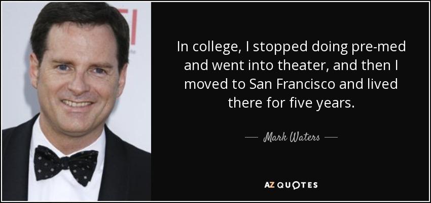 mark waters director