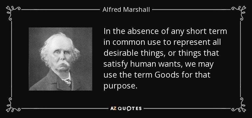 Common Short Quotes Interesting Alfred Marshall Quote In The Absence Of Any Short Term In Common