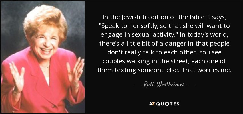 In the Jewish tradition of the Bible it says,