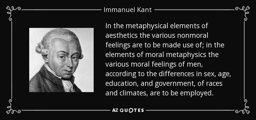 Kant Aesthetics