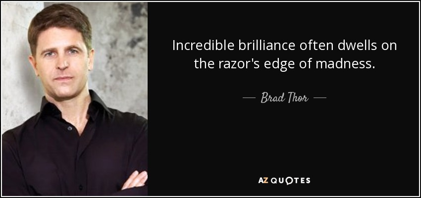 The razor's edge quotes?