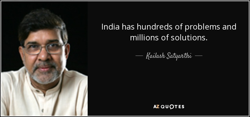 india problems and solutions