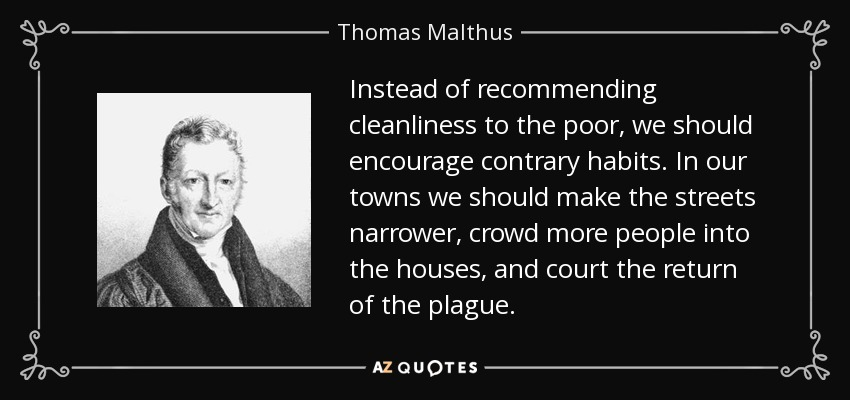 TOP 25 QUOTES BY THOMAS MALTHUS (of 88) | A Z Quotes