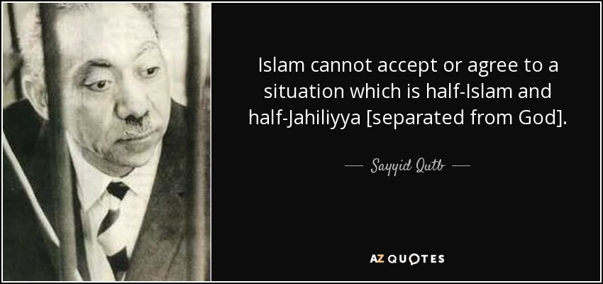 sayyid qutbb In the field of islamist political philosophy, sayyid qutb is one of the twentieth century's most important figures yet, if he is known at all in the west, it is superficially, often dismissed as the godfather of al-qaeda or something similar.