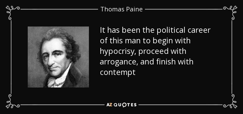 representative democracy in the united states through the eyes of thomas paine Edmund burke and thomas paine the us as a true representative democracy prior to 1920 because feminism in the united states.