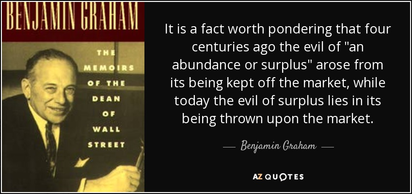 It is a fact worth pondering that four centuries ago the evil of