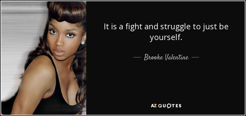 TOP 12 QUOTES BY BROOKE VALENTINE  AZ Quotes