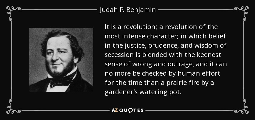 QUOTES BY JUDAH P. BENJAMIN | A-Z Quotes