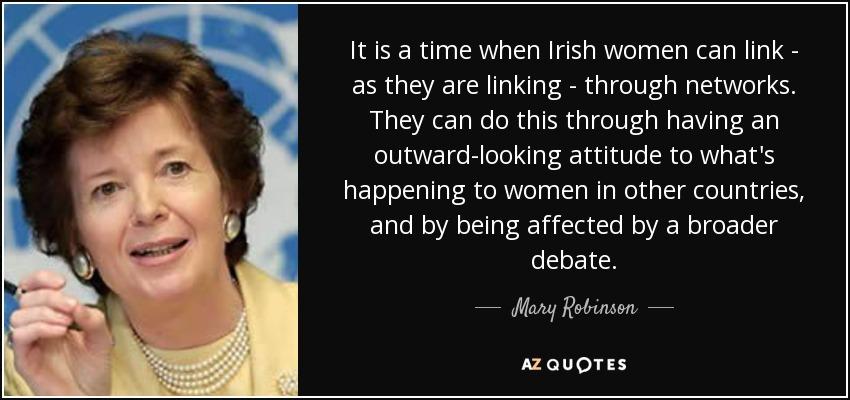 irish women
